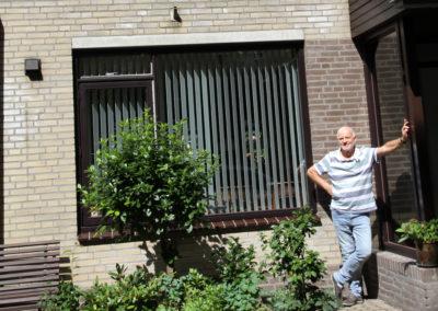 Een grootschalige zonnepanelenproject in 't Kleine Hout in Houtwijk
