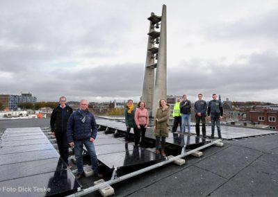 Veel nieuwe zonnepanelen op daken in Scheveningen Haven en Scheveningen-Dorp!
