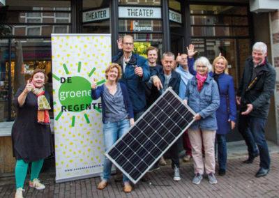 Het Klimaatfonds blijft bewonersinitiatief de Groene Regentes steunen