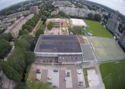 284 zonnepanelen gerealiseerd bij Sportaccommodatie HKV/Ons Eibernest